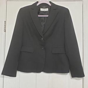 Black Pinstripe Blazer 6P